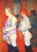 The Medical Inspection at the Rue des Moulins Brothel Henri de toulouse-lautrec